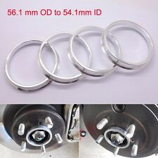 Wheel Hub Centric Spigot Rings Circle 56.1mm OD to 54.1mm ID Aluminium Alloy