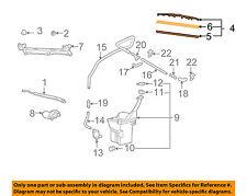 Scion TOYOTA OEM 04-06 xB Wiper Arm-Front Blade 8521252141