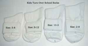 Bulk Turn Over School Socks Just $26.99 for 9 Pairs with Free Postage