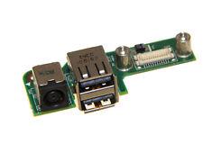 NEW Genuine Dell Inspiron 1525 1526 DC Jack 2-USB Ports Board 48.4W032.021