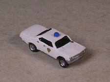 N Scale 1964 White Ford Police Car