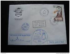TAAF lettre 2/2/85 - timbre - yvert et tellier aérien n°87 (cy6)