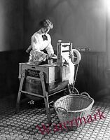 Photograph of a Thor Electric Laundry Machine  Year 1909 circa 8x10