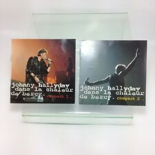 Johnny HALYDAY in the heat of Bercy,2 booklet cd