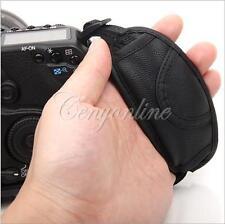 PU Leather Hand Grip Wrist Strap for Nikon D3200 D7000 Canon EOS 650D 5D2 600D