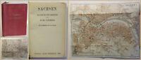 Baedeker Sachsen Handbuch für Reisende 1920 Landeskunde Geografie Geographie xy