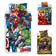 Avengers Marvel Bed Cover Children Bedding 140/160 X 200 CM