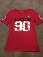 Girls Justice 5th & Ocean Red Ohio State Buckeyes Shirt Top Size 18