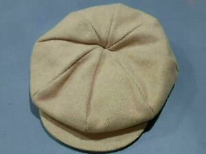 Wool Newsboy style Hat Cap w/ Ear Covers Flaps Men's 7 1/4 Cold Weather cap  5h5