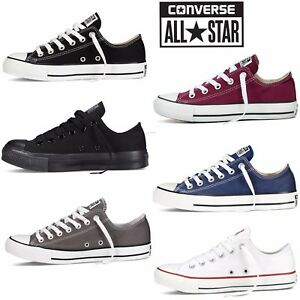 Converse All Star Chuck Taylor Mens Womens Unisex Low Tops Trainers Pumps