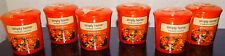 Yankee Candle Set of 6 Simply Home Autumn Sky Votives New 1224316