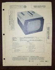 Set 359 Folder 7 Sams Photofact Rare Vintage General Electric GE