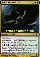 4x Bockbrückentroll (Trestle Troll) Return to Ravnica Magic