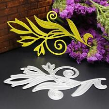 Flower Leaf Metal Cutting Dies Stencil DIY Scrapbooking Album Paper Card Crafts