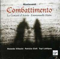 Rolando Villazon/Patrizia Ciof - Monteverdi: Il Combatimento Di Nuovo CD