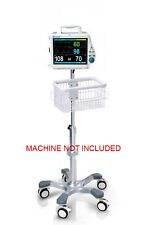 Rolling stand for Mindray PM-8000 DPM4 patient monitor new (big wheel)