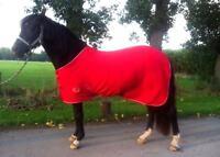 HEAVY FLEECE HORSE RUGS 5 Colours CHOICE OF SIZES mini pony cob full SALE SALE