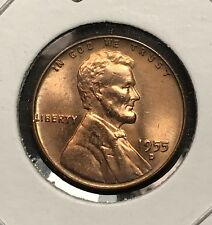 1955-D Lincoln Wheat Cent. Toned Collector Coin For Your Set or Collection.1
