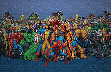 Marvel Super Heroes Comics Jigsaw Puzzle 1000 Pcs Home Wall Decor puzzles DIY