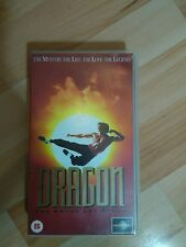 Dragon:The Bruce Lee Story .The Mystery.The Life. The Love. The Legend VHS PAL