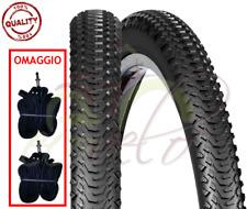 2 COPERTONI + CAMERE D'ARIA MTB BICI BICICLETTA 26 X 2.00 (50-559) MOUNTAIN BIKE