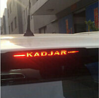 Adesivo sticker fibra carbonio terzo stop freno auto car RENAULT KADJAR 2016