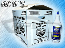 LUCAS 10278 ENGINE OIL STOP LEAK - BOX OF 12 BOTTLES