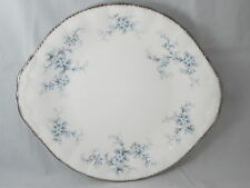 PARAGON - Brides Choice - Blue Flowers - CAKE PLATE - 1051