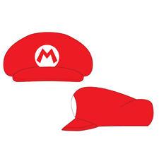 NINTENDO Super Mario Bros. Shaped Cap with Mario Logo, One Size, Red HA100502NTN