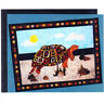 CLEARANCE - Talulah - fabulous applique and pieced tortoise wall quilt PATTERN