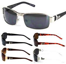 Mens Wrap Around Sunglasses Fashion Designer Rectangular Retro Shades Sport Golf