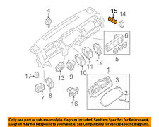 NISSAN OEM Dash Cluster Switch-Ring Protector 253369B92A
