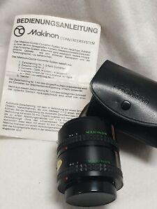 Makinon 2x Converter in OVP + Bedienungsanleitung - near mint - für Rolleiflex 3