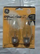GE 44405, 60 Watts 120-Volt Light Bulb (Each Pack Has 2 Bulbs) Reg Base