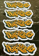 Green Bay Packers Graffiti Vinyl Vehicle Car Laptop Wall Sticker Decal