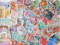 STAMP EUROPE WEST 1000pc lot off paper philatelic collection used