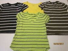 Lot of 4 Ralph Lauren Tops sz Small T SHIRT striped LOGO TEE Gently worn u