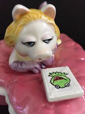 MISS Piggy CERAMIC Heart TRINKET Box SIGMA Taste SETTER Muppets