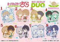 Anime Cardcaptor Sakura Rubber Keychain Straps cosplay
