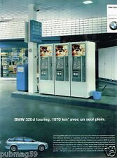 Publicité advertising 2001 BMW 320d Touring