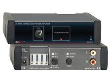 RDL EZ-PA20 20 Watt Stereo Audio Power Amplifier
