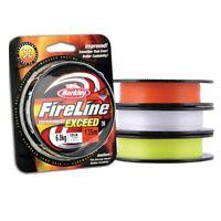 Berkley FireLine Tournament Exceed PE Braid GREEN Colour 135m /150yds ALL SIZES