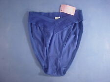 Vintage Hanro of Switzerland 2147 Cotton Panties Size Xtra Small in Royal Blue