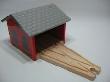 DOUBLE ENGINE SHED  for Wooden Train Track Set (Brio Thomas) ~ NEW BOXED
