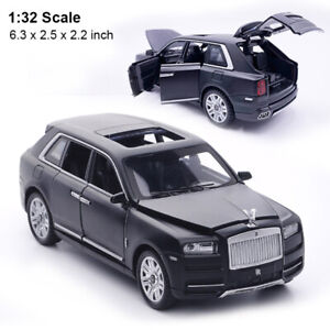 1/32 Diecast Model Toy Car Rolls-Royce Cullinan Collection Sound&Light Kids Toy