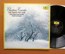 DG 2542 123 Christmas Concertos Corelli Manfredini etc Karajan Berlin Phil NM/EX