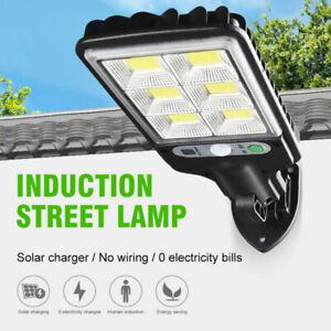 LED Solar Lights PIR Motion Sensor Security Wall Light Garden Landscape Lamp
