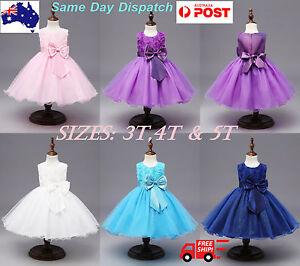 Girls Kids Princess Sequins tutu Birthday Party / Ocassional Dress Size 3,4,5