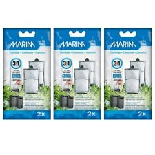 More details for marina i110 / i160 replacement filter cartridge 3 packs of 2 internal fish tank