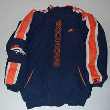 Vintage Denver Broncos ProLine Starter NFL Puffy Jacket Orange/Blue Size Medium